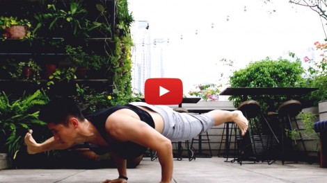 Hendri Take Yoga Rooftop