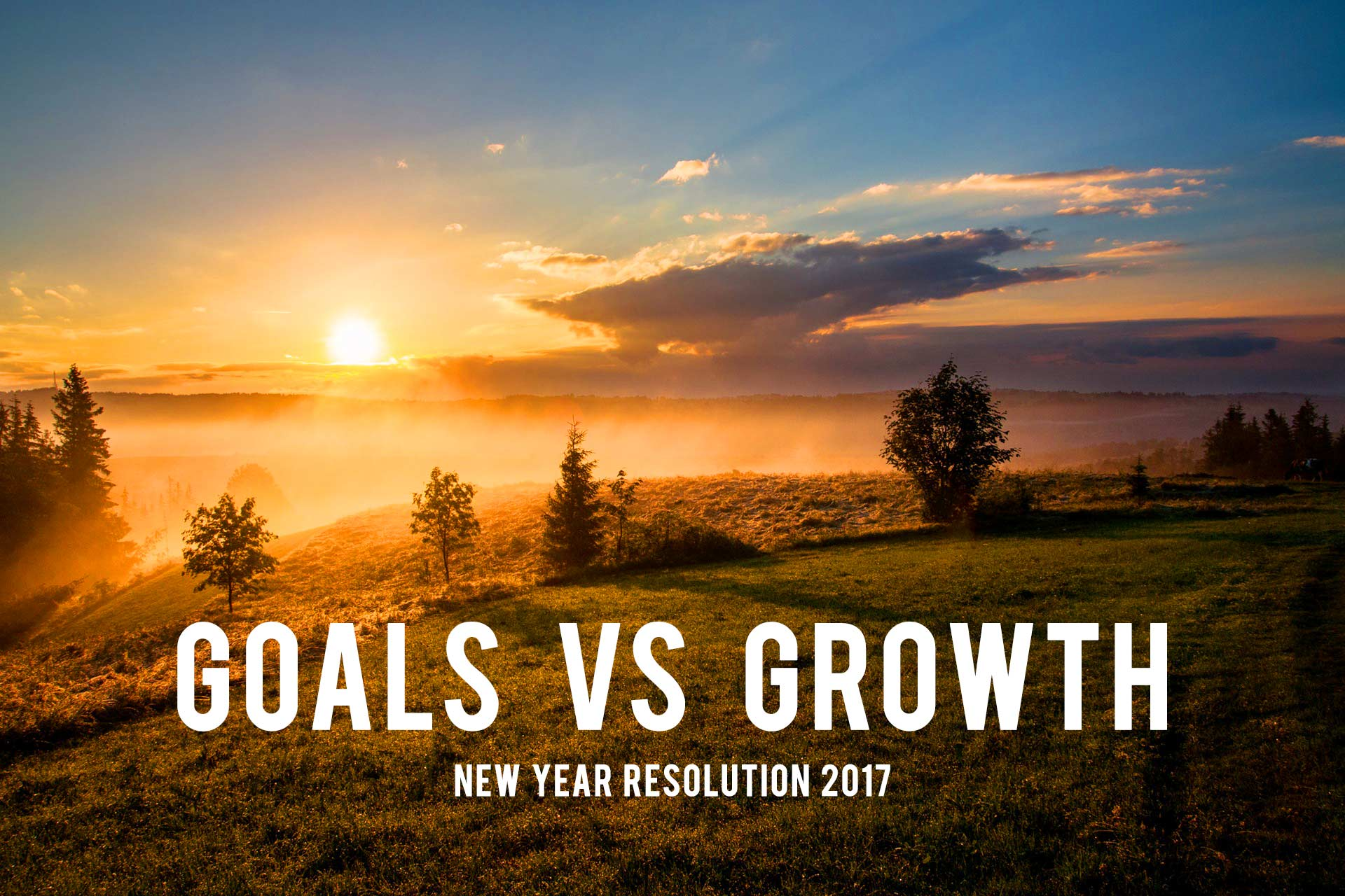 Goals VS Growth