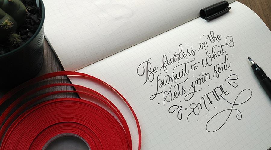 brush-lettering