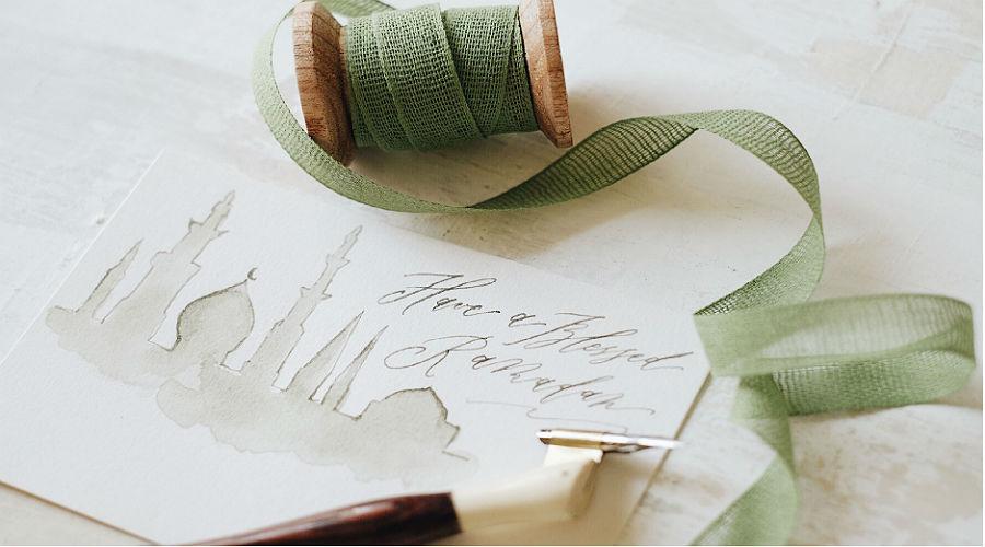 Belajar Calligraphy Ramadhan