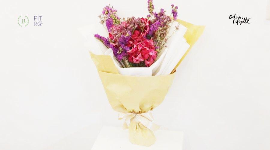 merangkai-bunga